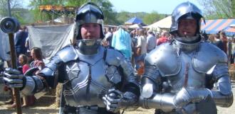 Mittelalterliche Burgfestspiele auf der Ronneburg