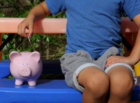 Kinder und das liebe (Taschen)geld