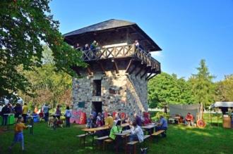 Römerfest rund um den Limesturm