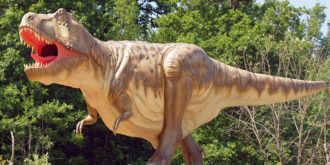 Dinosaurier Park Teufelsschlucht-Titelbild