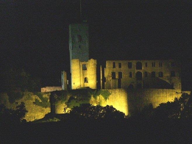 Der Herr der Ringe & Der Hobbit | Burg Koenigstein bei Nacht