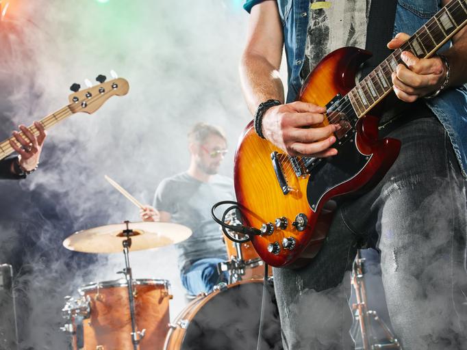 Rock und Pop Konzert
