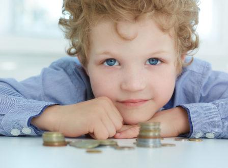 Gelderziehung bei Kindern