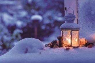 Alle Jahre wieder-Weihnachtsleuchte