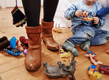 Wie lernen Kinder aufräumen?