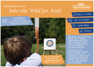 sommercamp-into the Wild for Kids