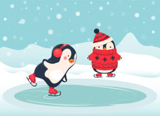Pinguin Ice Skater