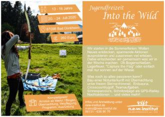 Sommercamp Into the wild - Jugendliche