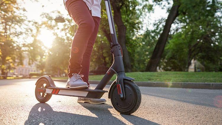 E-Scooter - ziemlich abgefahren