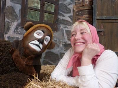 Gewinnt Karten für das Stück 'Mascha und der Bär'