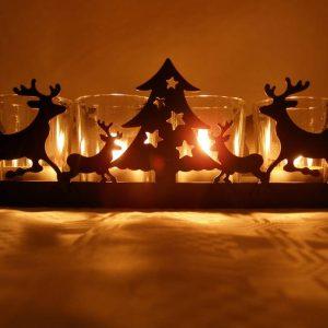 Weihnachtliches Holzwerken