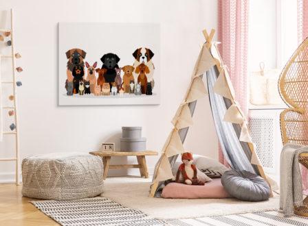 Wie dekoriert man ein Kinderzimmer? Wir haben ein paar beeindruckende Ideen!