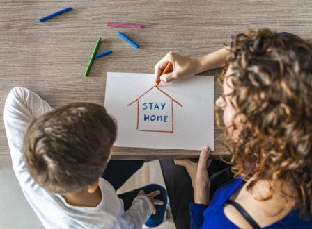 Forsa-Umfrage: Was Kindern und Eltern Sorgen während der Corona-Krise macht