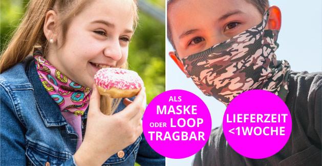 Schützen Sie Ihre Kinder mit der coolsten Covid-19-Maske