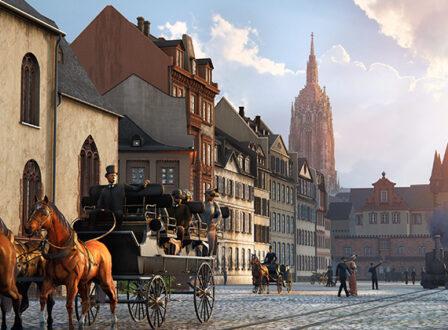 Gewinnt eine virtuelle Stadtrundfahrt ins Frankfurt des 19. Jh.!