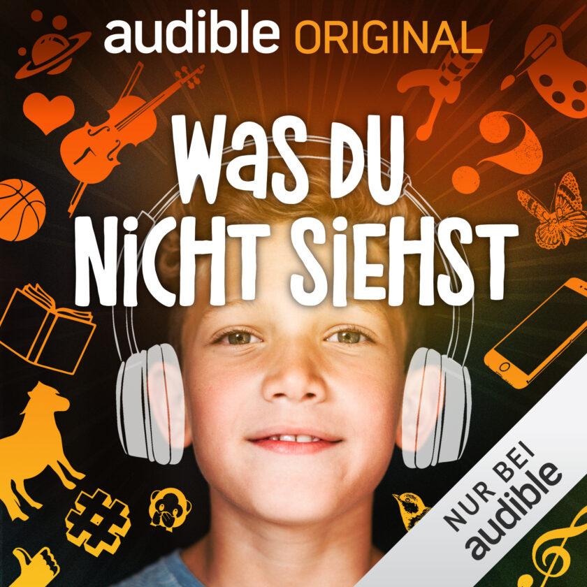 """Podcast für Kinder: """"WAS DU NICHT SIEHST"""""""