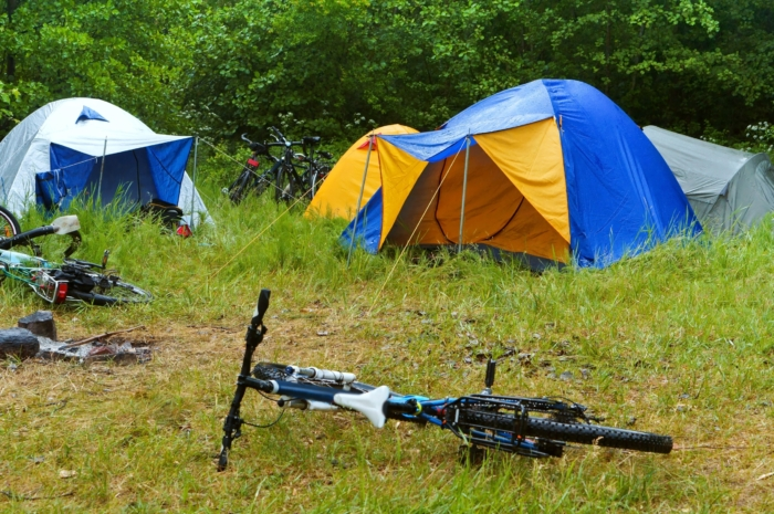 zelten-mit-bike