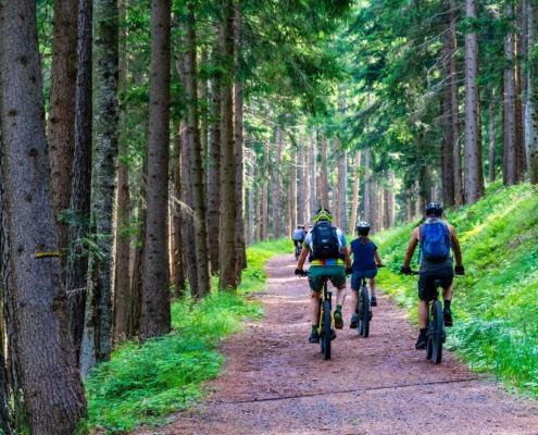 Mit dem E-Bike die Welt entdecken - Jetzt Familienrabatt sichern!
